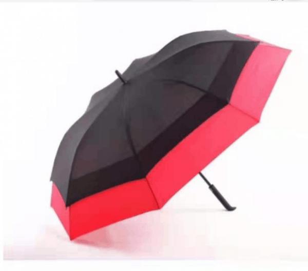 Promotional Umbrellas LoGU Extendable Ribs Auto Fibrestorm golf logo umbrellas - blue
