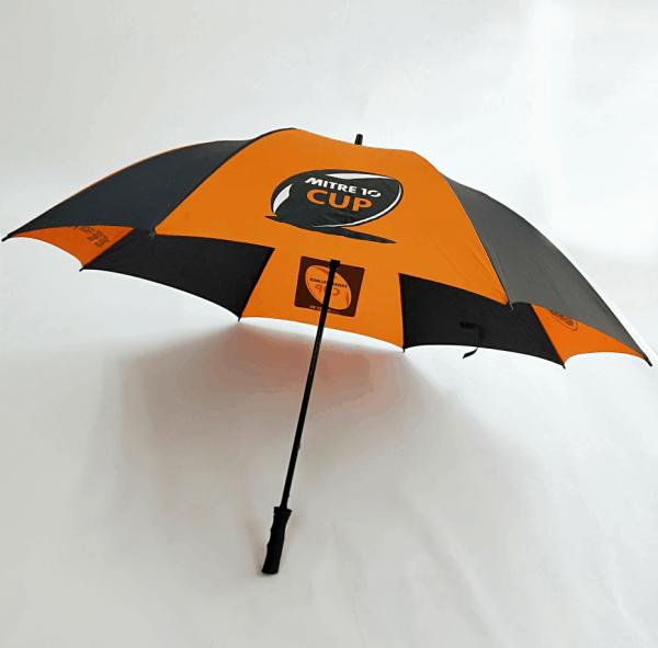 Branded Umbrellas - Fibreglass Golf Umbrella by Logo Umbrellas