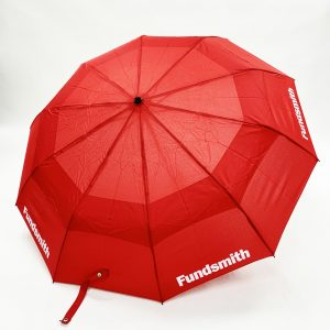 Branded Umbrellas - LoGU Vented Telescopic