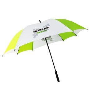 Printed Umbrellas - LoGU Fibreglass Square Golf