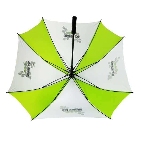 Printed Umbrellas - LoGU Fibreglass Square Golf - Interior
