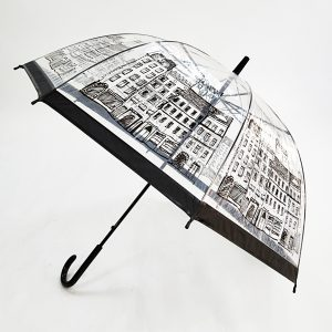 Printed Umbrellas – PVC Dome Automatic City Walker Umbrellas