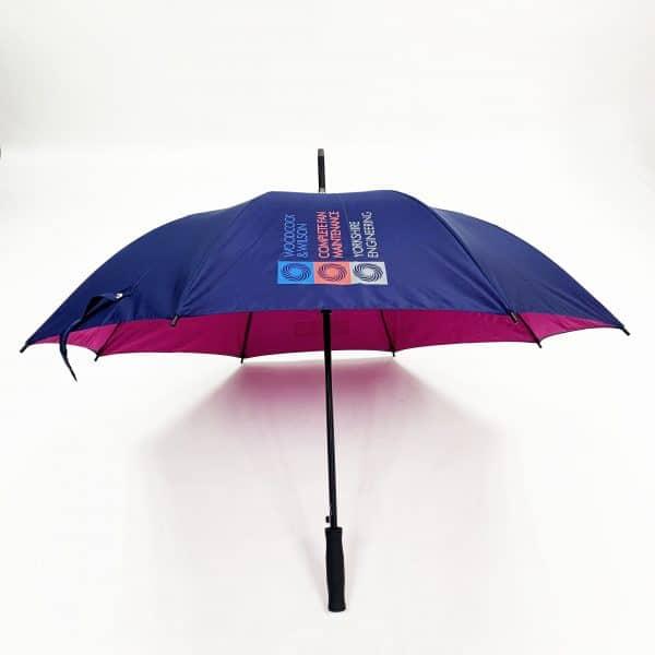 Promotional Umbrellas – LoGU Mini Fibrestorm Automatic Umbrella