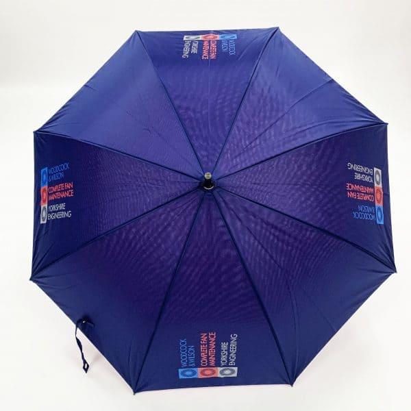Promotional Umbrellas – LoGU Mini Fibrestorm Automatic Umbrella Canopy