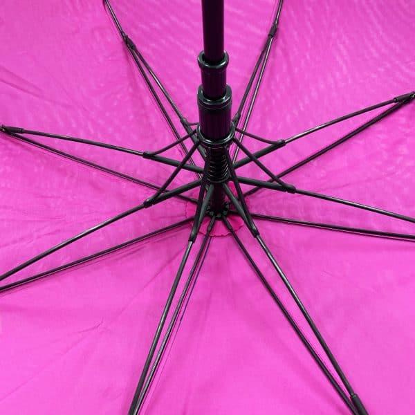 Promotional Umbrellas – LoGU Mini Fibrestorm Automatic Umbrella Ribs