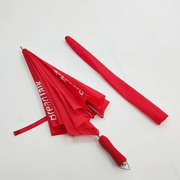 Branded Umbrellas – LoGU Fibrestorm Heart Umbrellas Closed