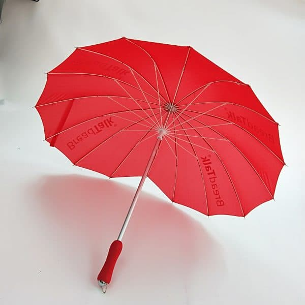 Branded Umbrellas – LoGU Fibrestorm Heart Umbrellas