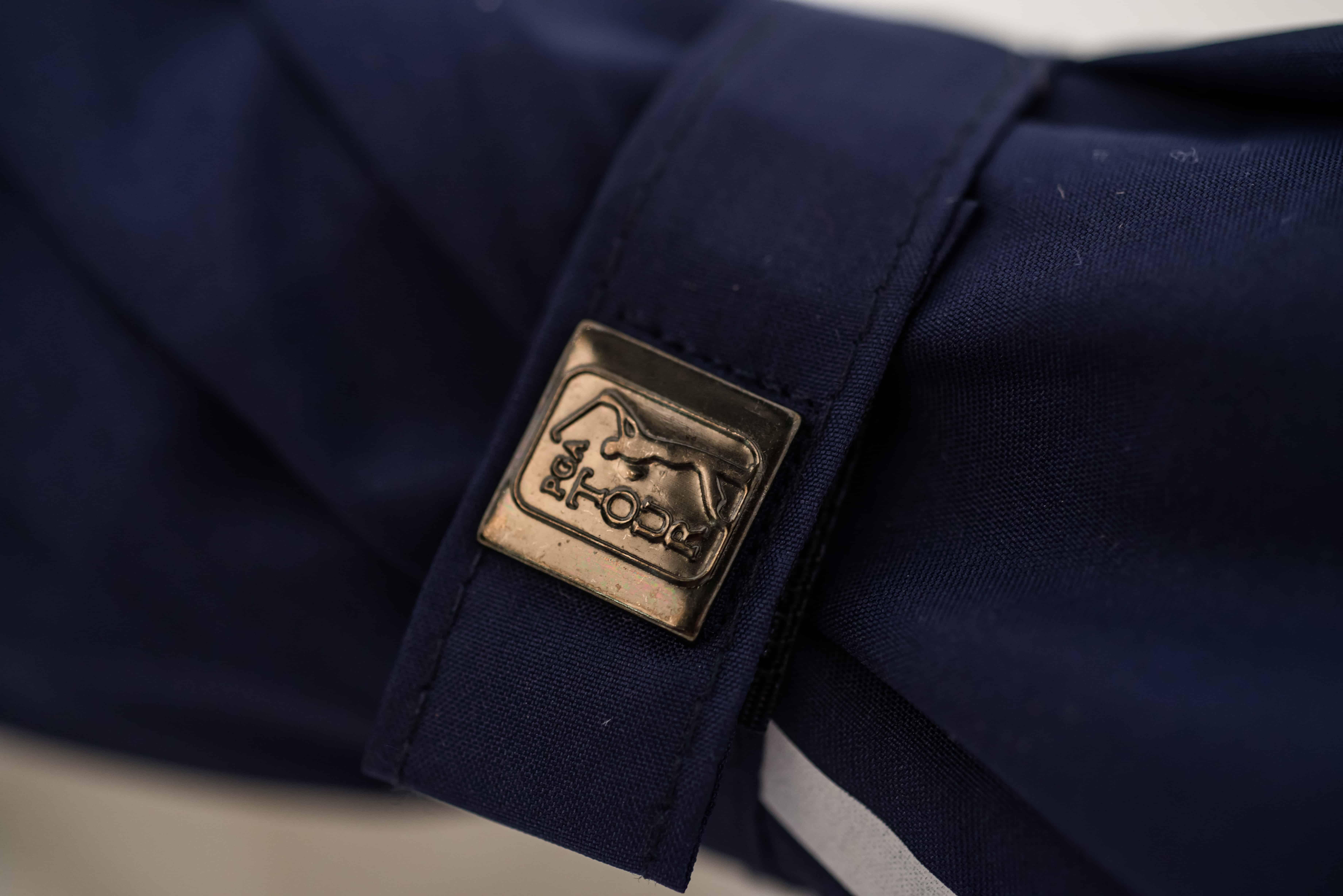 Embossed tie wrap by Logo Umbrellas