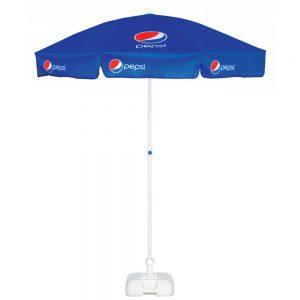 Logo umbrellas Promotional Fibreglass Pub Parasol