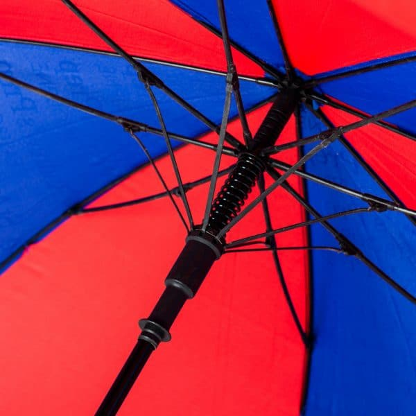Ribs of Über Brolly Vented Automatic Golf Promotional Umbrella