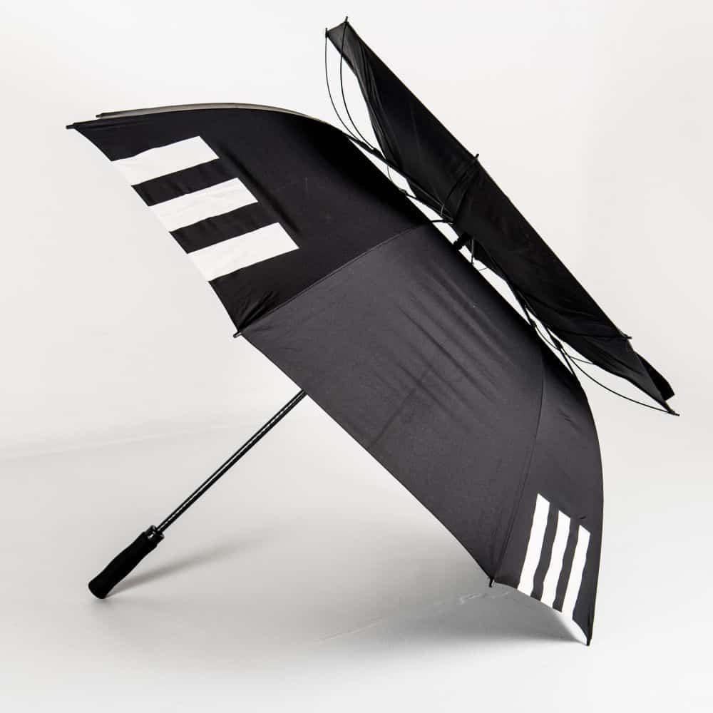 logo umbrellas auto vented golf umbrella