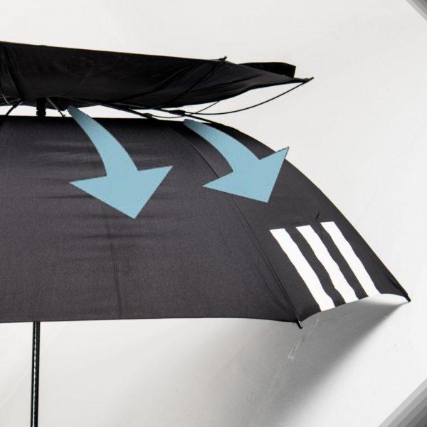 promotional umbrellas storm flow vented golf