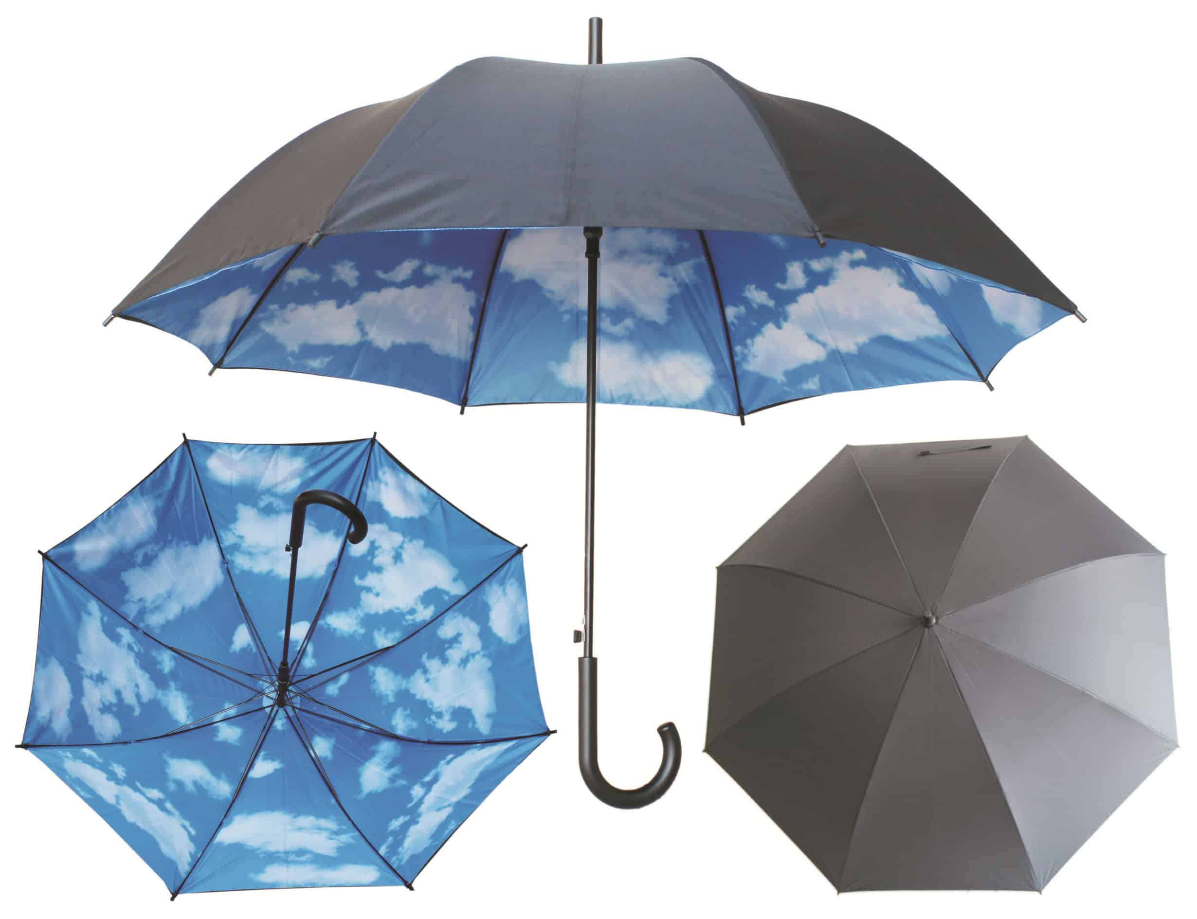 Logo umbrellas with Printed Double Layered Canopy