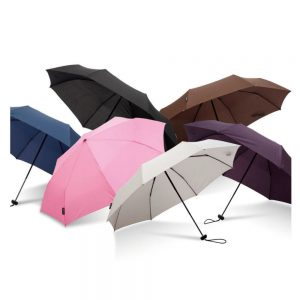 super mini logo umbrellas