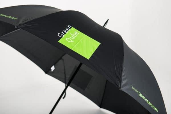 Classic Golf logo umbrellas