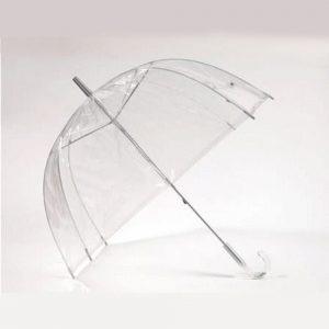 branded umbrella logo PVC dome