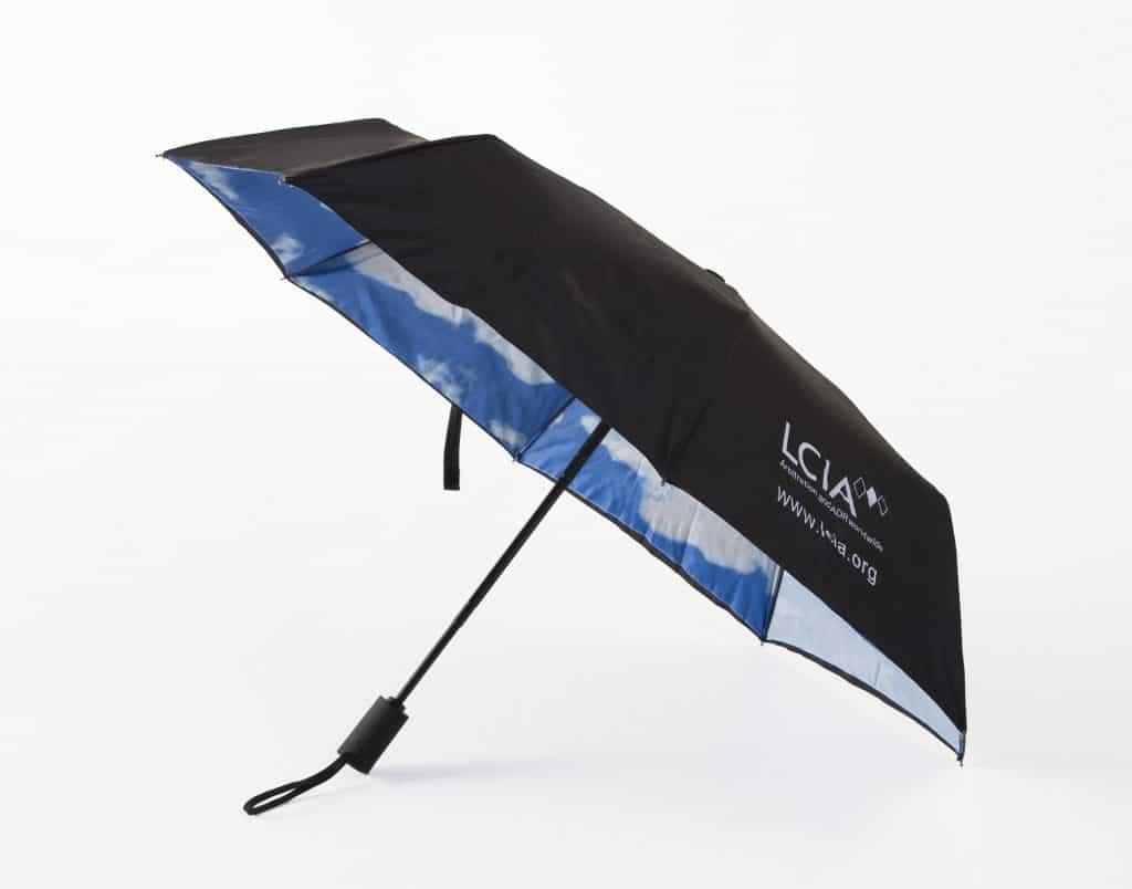 Printed promotional umbrellas