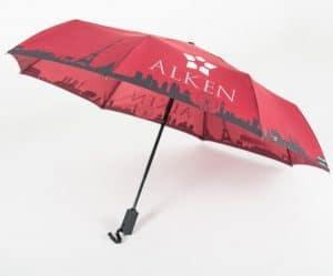 Umbrellas & Parasols Telescopic branded umbrella