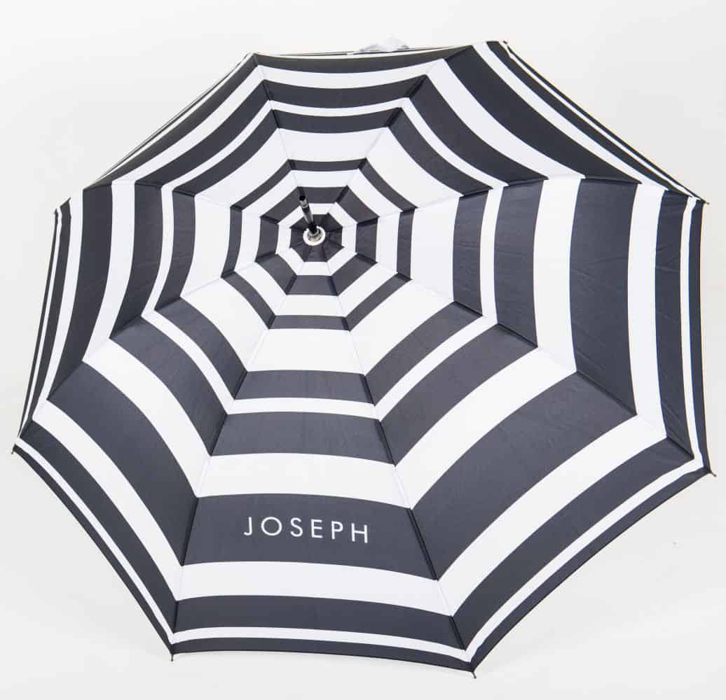 Canopy of Straight Handle Walker branded umbrella