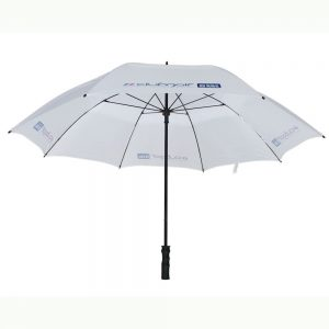 Printed Umbrellas - LOGU VENTED AUTOMATIC FIBRESTORM® GOLF UMBRELLA