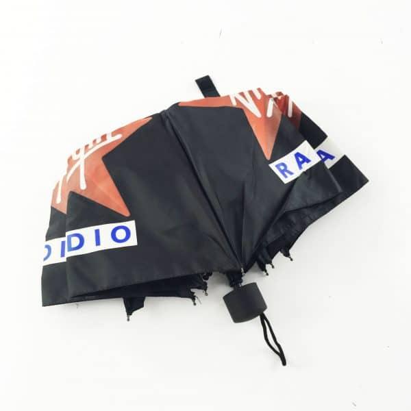 Printed Umbrellas - Manual Telescopic Closed