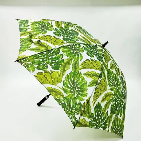 Printed Umbrellas - Budget Fibreglass Golf Automatic - canopy