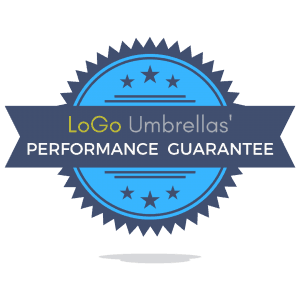 Promotional Umbrelas - Logo umbrellas performance guarantee